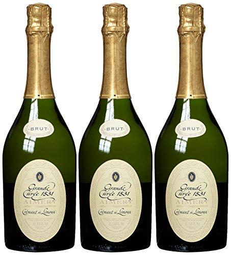 Aimery Sieur d Arques Crémant de Limoux Brut Grande Cuvée 1531 Méthode Traditionelle, 3er Pack (3 x 750 ml)