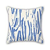 NICEPLW throw cushion covers of Colorful geometry 20 x 20 inches / 50 by 50 cm,best fit for bar,wedding,office,home theater,son,valentine double sides