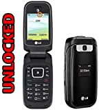 LG B470 3G Flip Phone with Camera and Bluetooth, Carrier branded (Unlock Code Provided)