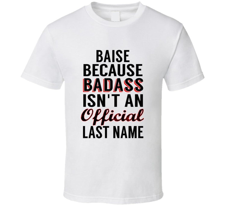 Schilder Because Badass Isnt An Official Name T Shirt