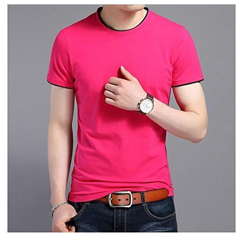 Pirate Shirt à manches courtes_2018 creux à manches courtes en coton col chemise creux de la tendance de la mode masculine de la jeunesse