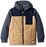 Quiksilver Big Boys' Oha You Youth Zip up Jacket, Plage, XS/8