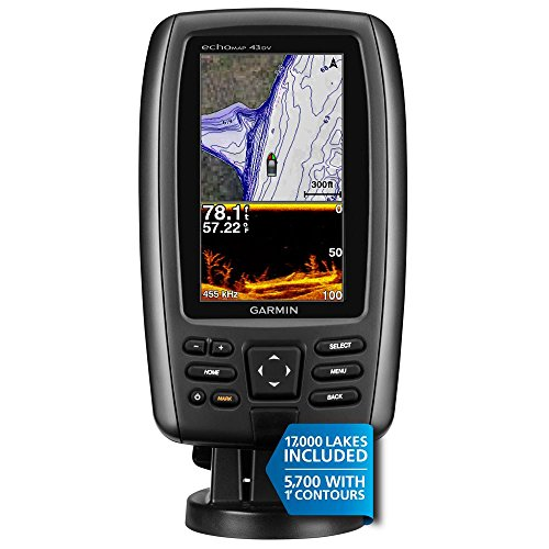Garmin echoMAP 43dv with transducer
