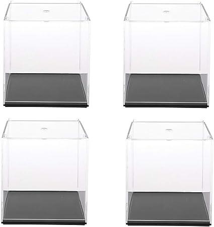 D dolity polvo Densidad vitrina vitrina caja Cube para figuras de anime Peluche figuras Modelo, acrílico: Amazon.es: Hogar