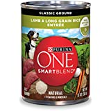 Purina ONE SmartBlend Natural Classic Ground Lamb & Long Grain Rice Entree Wet Dog Food - 13 oz. Can