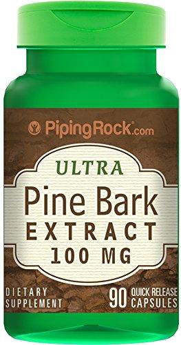 Pine Bark Extract 100 mg 90 Capsules