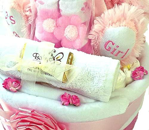Its A Girl Nappy Cake