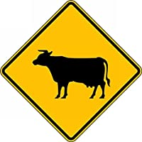Accuform (COW CROSSING PICTORIAL) (FRW717DP)
