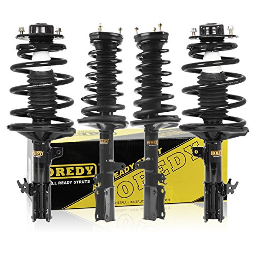 Front /& Rear Quick Complete Struts /& Coil Springs for 2002-2003 Toyota Camry