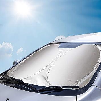 Auto Sonnenschutz Auto Sonnenblende UV Schutz Autoscheibenabdeckung Auto Windschutzscheibe das Auto K/ühler um bis zu 50/% Amokee Auto Frontscheibe Flexibel Gr/ö/ße f/ür SUV Truck Auto Big oder kleine