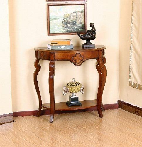 All Things Cedar HR120 Ornamental Console Table, Cherry
