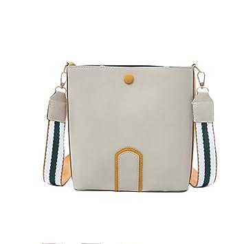 52320fb88 Amazon.com: Crossbody Bags, Dream Room Woman Small Bag Wild Shoulder Bag  Wide Shoulder Strap Messenger Bag (Beige): Dream Room - Black Friday & Cyber  Monday ...