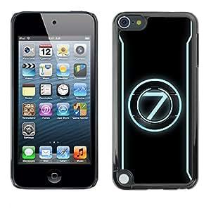 TopCaseStore / la caja del caucho duro de la cubierta de protección de la piel - 7 - Apple iPod Touch 5