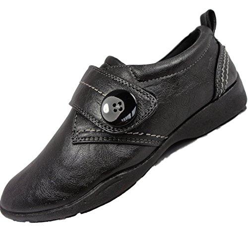 Ubershoes - Mocasines para mujer negro - negro