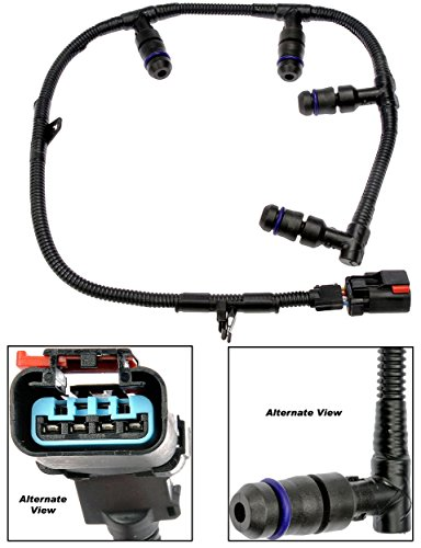- APDTY 015350 Glow Plug Wire Pigtail Connector Wiring Harness Fits Left Bank 2005-2007 Ford Trucks Excursion F250 F350 F450 F550 w/ 6.0L Diesel (Replaces 5C3Z-12A690-A, 1845915C92)