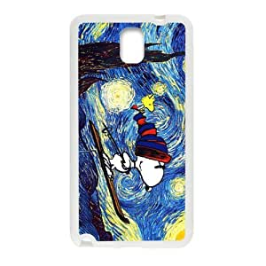 Van gogh starry night paintings snoopy Cell Phone Case for Samsung Galaxy Note3