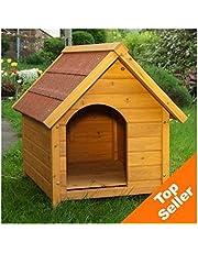 Caseta de perro resistente y atractivo Exterior Caseta de perro