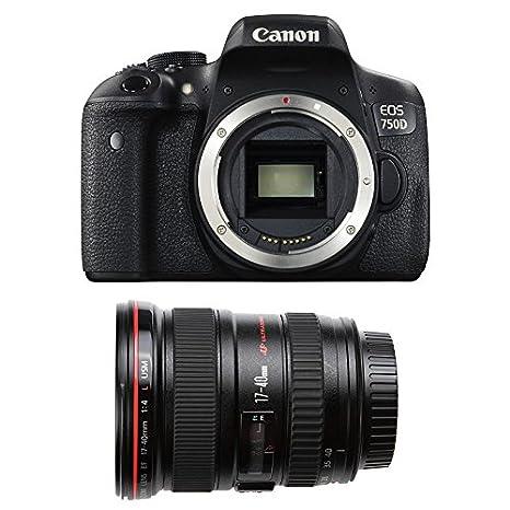 CANON EOS 750D + 17-40 L USM: Amazon.es: Electrónica