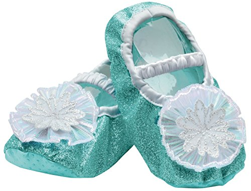 Disguise Elsa Toddler Slippers, One Size (upto Size 6)