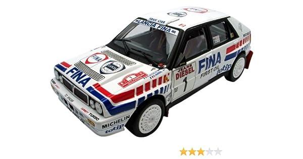 Rally Center Roblox - Lancia Delta Hf Integrale 1 16v 118 Rally San Remo Winner Dauriol Boccelli 1 Of 1500 Produced By Sunstar