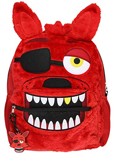 - Five Nights at Freddy's 3D Foxy Plush And Embroidered Face Backpack