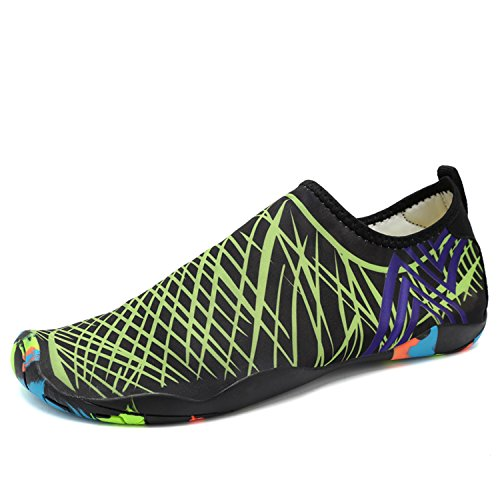 4 Surf Socks Barefoot SAGUARO Skin Water Yoga Green for Shoes Beach Aqua Swim fRTqwT1