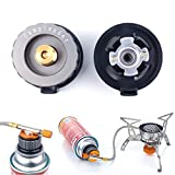 Kitchen Connexion Stove Connector Outdoor Picnic & Bbq - Outdoor Camping Picnic Stove Converter Head Burner Tank Gas Bottle Adapter Connector - Range Connection - 1PCs
