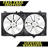 RADIATOR CONDENSER COOLING FAN FOR TOYOTA FITS CAMRY 2.4 L4 4CYL TO3115151