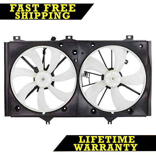 - RADIATOR CONDENSER COOLING FAN FOR TOYOTA FITS CAMRY 2.4 L4 4CYL TO3115151