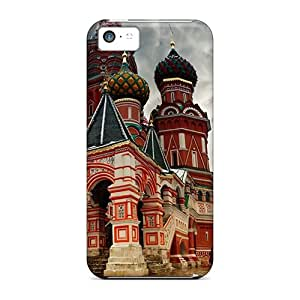 Iphone 5c Cover Case - Eco-friendly Packaging(saint Basils Cathedral)