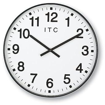 Amazon.com: INFINITY/ITC 90/0019-1 Oversized 12-Hour Clock, 19 ...