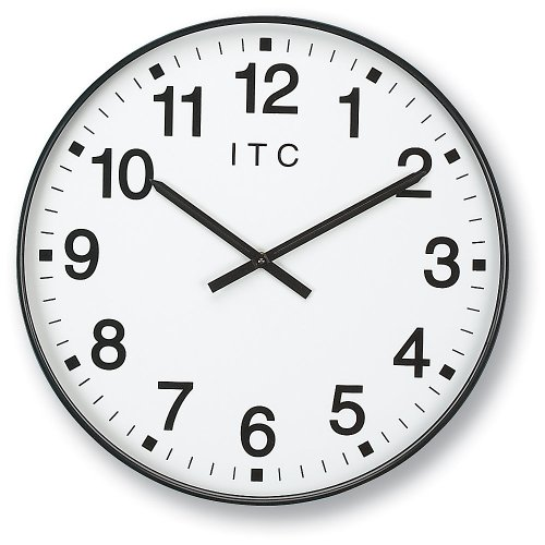 INFINITY/ITC 90/0019-1 Oversized 12-Hour Clock, 19