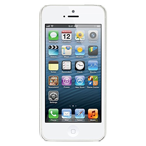 Apple iPhone 5, GSM Unlocked, 16GB - White (Renewed) (I Mobile Unlocked 5 Phone T)