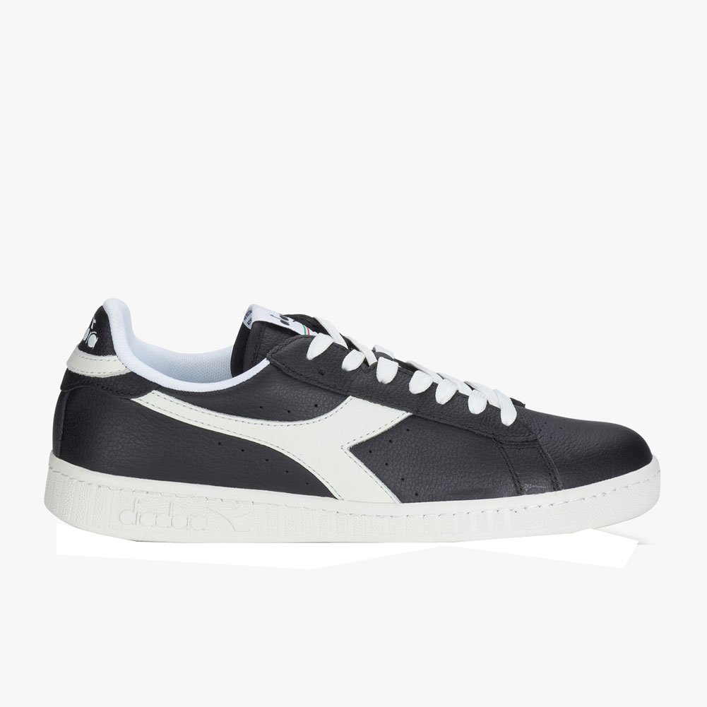Diadora Unisex Game L Low Casual Shoes B077K9FJ5T 10.5 D(M) US|Black/White/Black