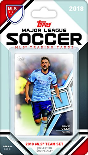 New York City FC 2018 Topps MLS Soccer Factory Sealed 9 Card Team Set with David Villa and Sean Johnson plus