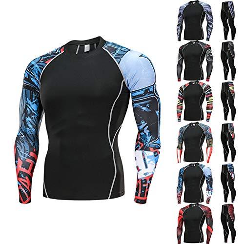 Qualité Rapide Noir Séchage Haute Top Entraînement Pantalon Leggings Homme Fitness Sanfashion Survêtement 7 Sport Jogging Shirt Gym P6pwZxTqO