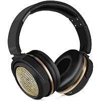 Headphone Fone Ouvido Wireless Bluetooth Bt1612 Extra Bass Dourado