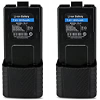 Baofeng Replacement Battery 7.4V 3800mAh for Walkie Talkies UV5 BF-F8HP UV-5R UV5R PLUS UV-5RTP BF-F8 BF-F8+