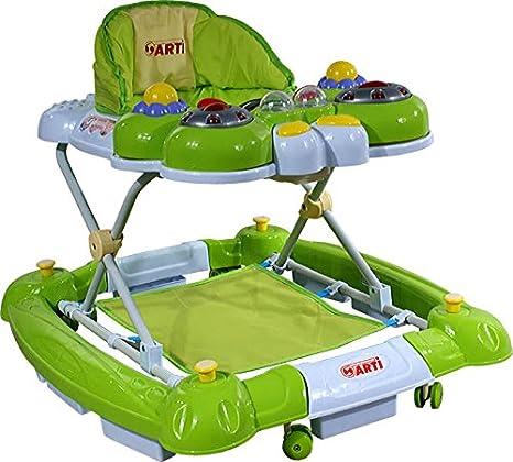Andador para bebés regulable en altura con juguetes y sonido ARTI ...