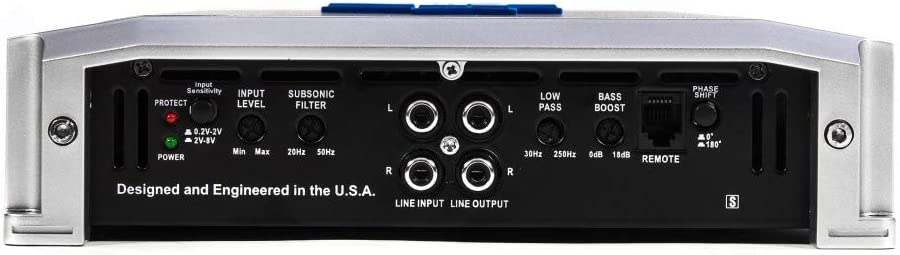 Autotek TA2050.1 2000 Watt Mono Class D Car Amplifier 1 Ohm+Amp Kit+Bass Remote