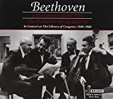Beethoven The Middle Quartets in Concert at the Library of Congress 1940-1960