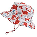 Baby Sun Hat Dinosaur - Toddler Kids Boys UPF