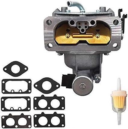 Carburetor /&Gaskets for Kawasaki 15004-7026 15004-0761 15004-1009 Carb Assembly