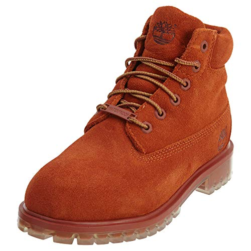 Timberland 6 Inch Premium Waterproof Little Kid's Boots Rust tb0a1ai2 (3 M US) ()