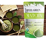 Organic Matcha Green Tea Powder | Culinary Grade | Perfect for Latte, Cappuccino, Baking, Smoothies, Recipes | Super Antioxidant, Sugar Free, Fat Burner, Weight Loss and Energy Alternative