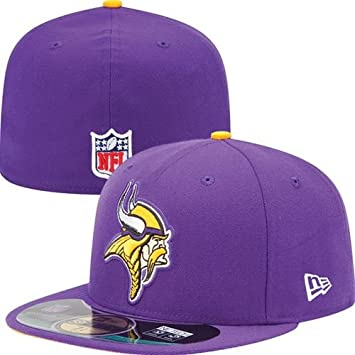 New Era NFL MINNESOTA VIKINGS Authentic On Field 59FIFTY Game Cap, Größe:7 1