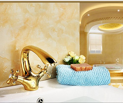 14 LHbox Basin Mixer Tap Bathroom Sink Faucet The golden basin Faucet 67