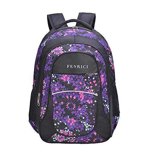 Kids' Backpack for Girls, Teens by Fenrici, 18, for Elementary School Students (Clip Backpack Pokemon)