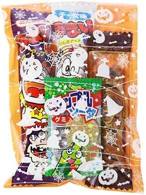 ハロウィン袋 120円 お菓子 詰め合わせ(Bセット) 駄菓子 袋詰め おかしのマーチ
