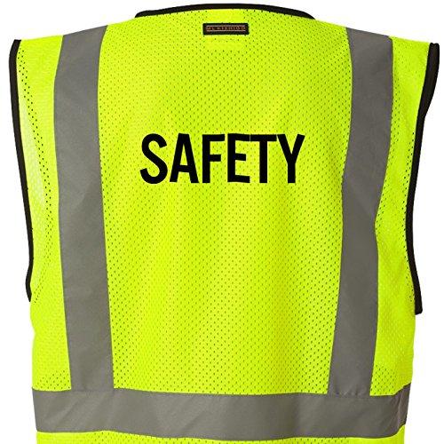 Kamal Ohava Budget Mesh Reflective Safety Vest, SAFETY Lime, S/M by KAMAL OHAVA